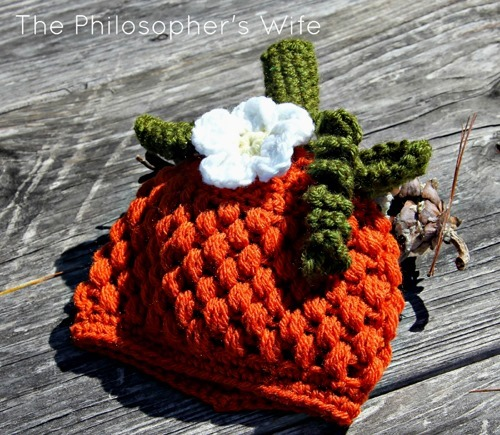 Best Halloween Ideas - baby pumpkin crochet hat