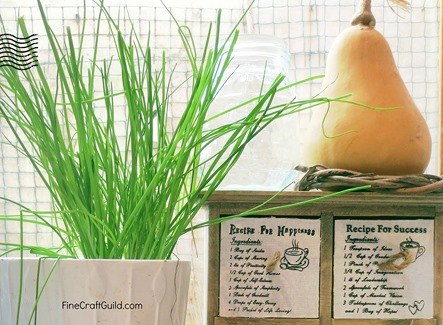 centerpiece ideas with fruit and vegetables :: FineCraftGuildlcom
