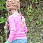 free knitting pattern for girl whirl hat