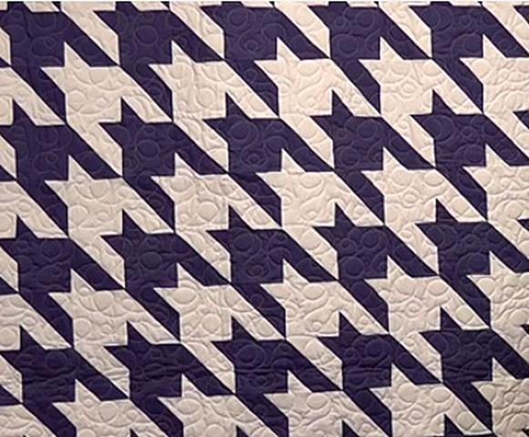 Houndstooth quilt pattern