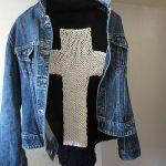 Triangle Shawl Knitting Pattern