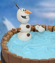 Groovy Kit Kat Birthday Cake Frozen Olaf Video Tutorial Funny Birthday Cards Online Alyptdamsfinfo