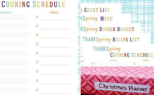 holiday hacks party planner gift planner