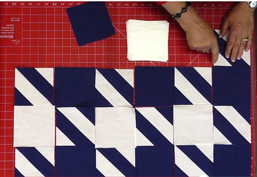 houndstooth quilt pattern free video tutorial