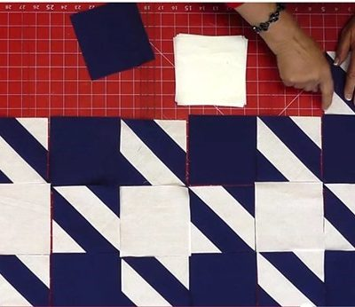 Houndstooth Quilt Pattern, Free Video Tutorial