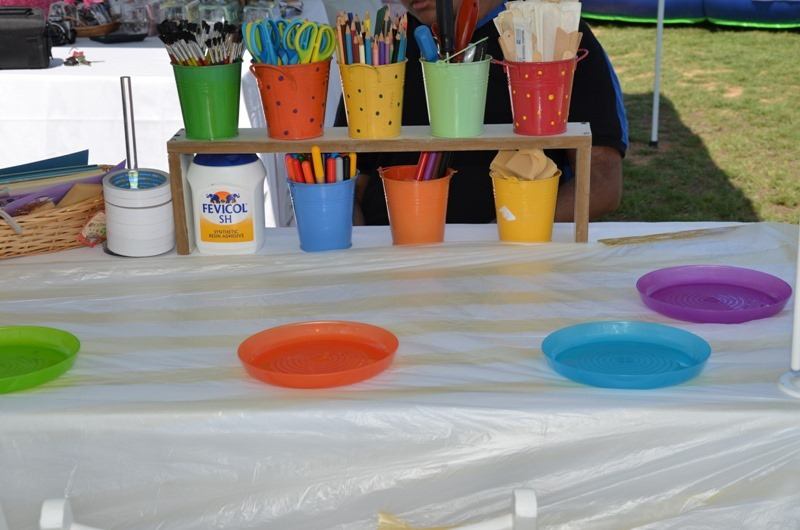 Top Tips for Scrapbooking ::  how set up a craft fair booth