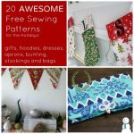 awesome free sewing patterns. for the holidays