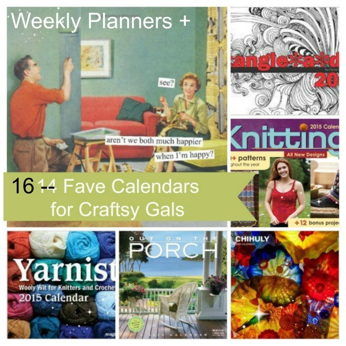 Weekly Planners and Calendars 2015