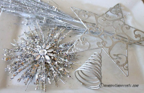 DIY Christmas Tree Topper Topper Supplies