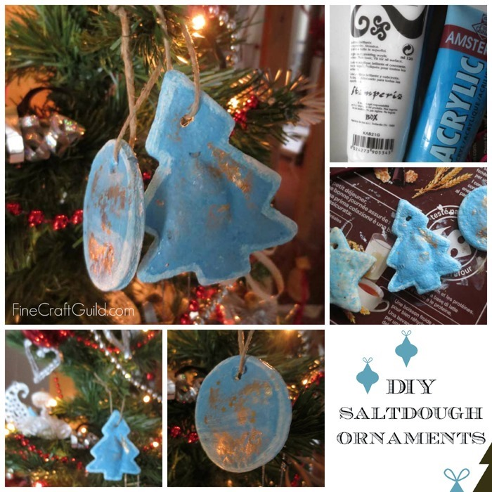 diy salt dough christmas ornaments