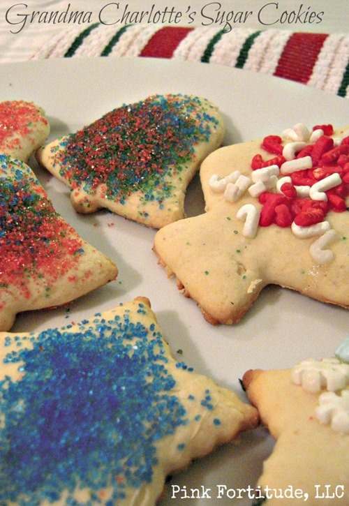 grandma sugar cookies recipe