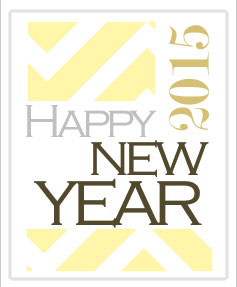 New Year images bottle labels