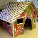 Giant DIY Gingerbread House: just Fab!