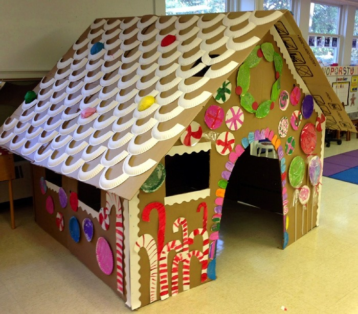 life_size_cardboard_gingerbread_playhouse