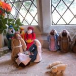 Inspirational Knitted Nativity Scene