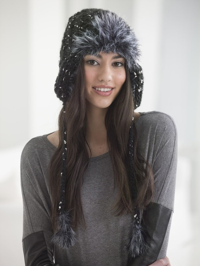 Hat Free Knitting Pattern, featured on FineCraftGuild