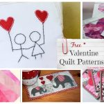 Free Quilt Block Patterns for Valentines Day (hearts)