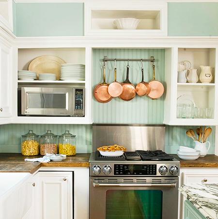 15 Unique Kitchen Backsplash Ideas :: FineCraftGuild.com :: recycled wood