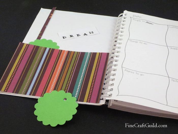 Notebook Cover Makeover  :: FineCraftGuild.com