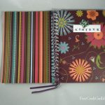 Pretty Notebook Cover Makeover