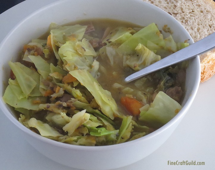 Best Cabbage Recipes?  Make This Soup!
