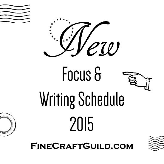 NEW Writing Schedule 2015