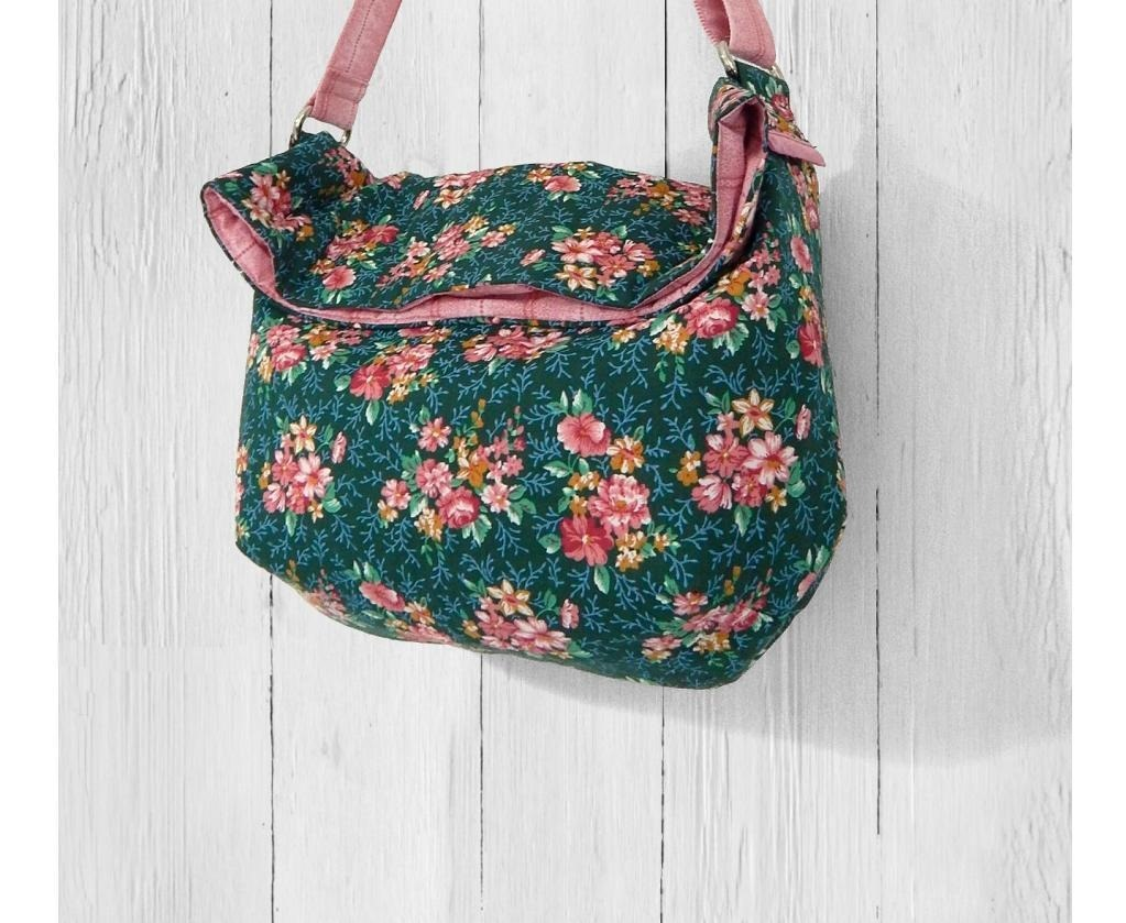 Slick Slouchy Sling Bag Free Sewing Pattern