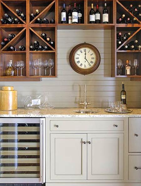 wood :: 15 Unique Kitchen Backsplash Ideas :: FineCraftGuild.com