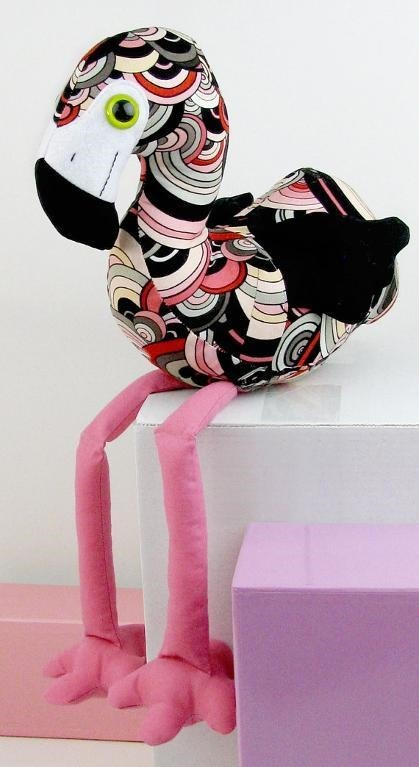 Flamingo - Top Stuffed Animal Sewing Patterns - FineCraftGuild.com