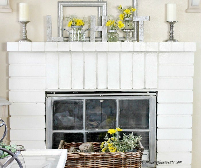 Awesome Early Spring Home Decorating Ideas For Fireplace Mantels Home Interior And Landscaping Dextoversignezvosmurscom