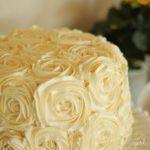 Strawberry-Vanilla Rose Cake with Buttercream Frosting Recipe :: FineCraftGuild.com