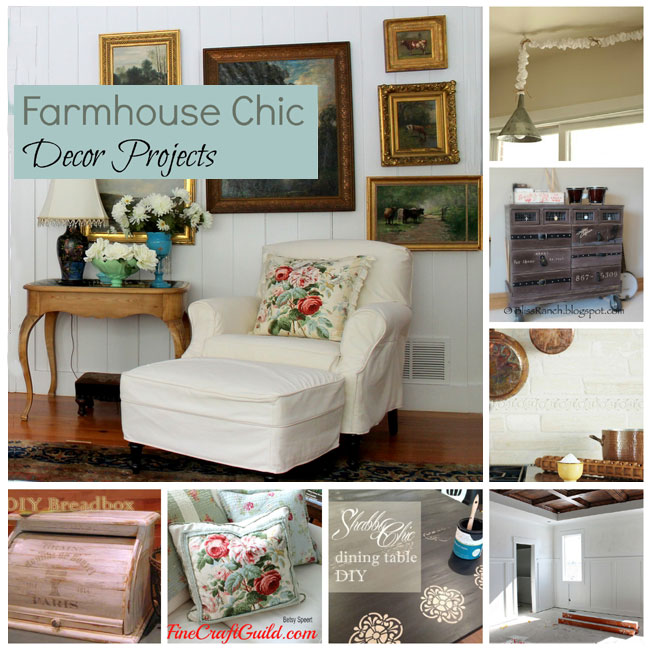 Farmhouse Chic Decor Ideas - FineCraftGuild.com