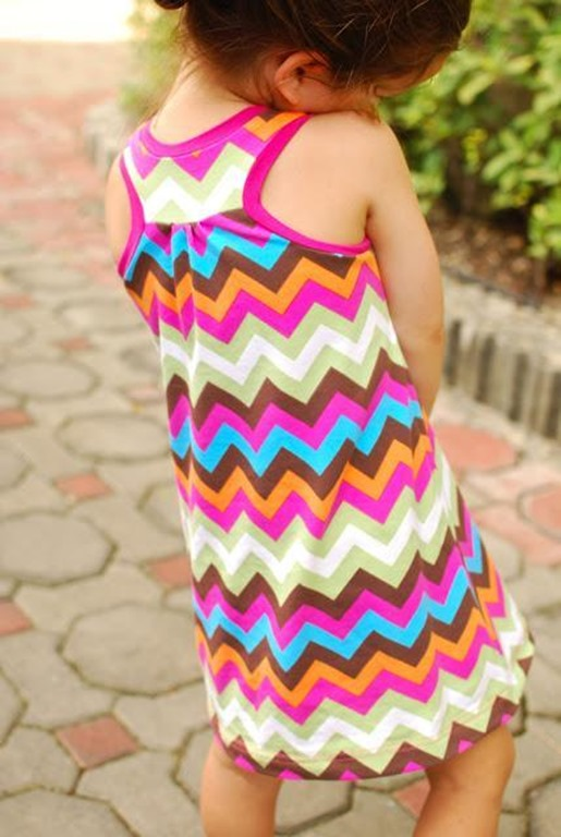 Free Racerback Dress Pattern for Girls