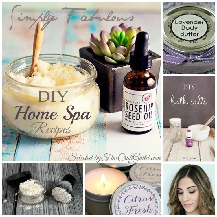 6 Fabulous DIY Home Spa Recipes