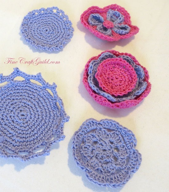 Makeup Removal Pads - Crochet Patterns by FineCraftGuild.comn