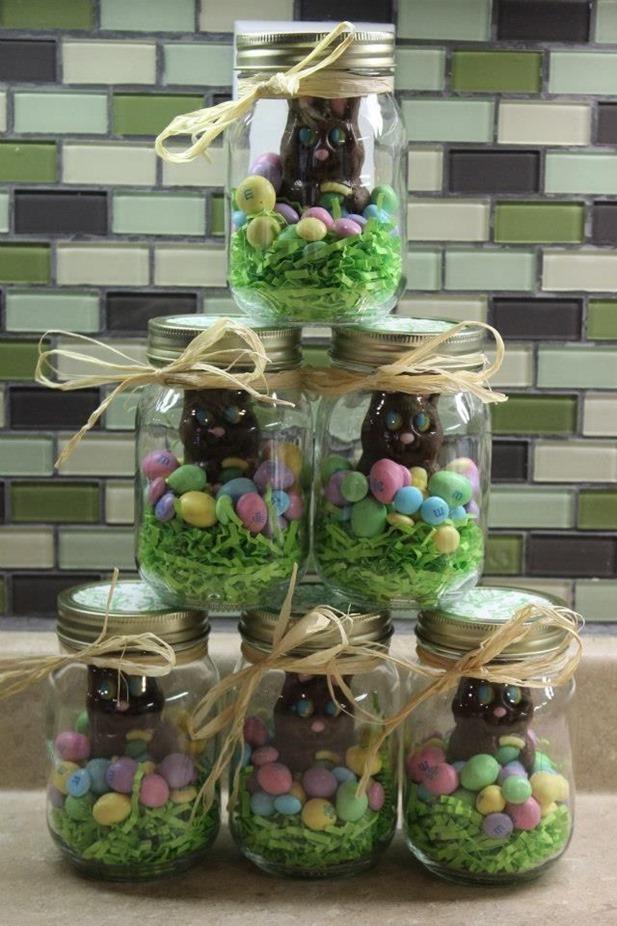 🌺 15 Easy DIY Mason Jars ideas  w Easter Treats 🌺