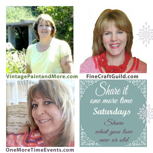Share it One More Time Saturdays at FineCraftGuild.com