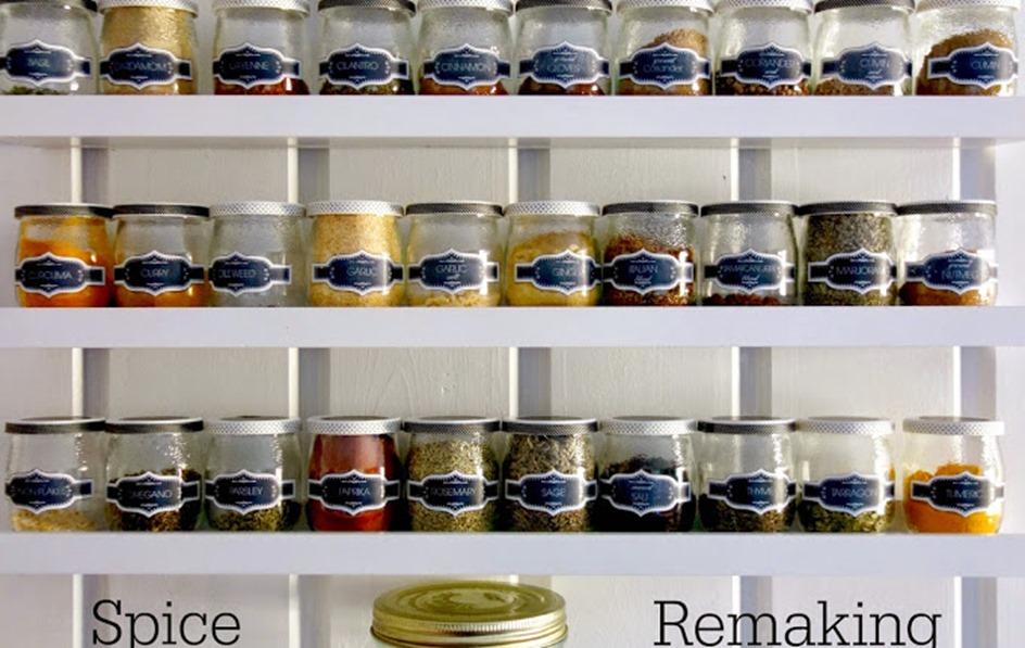 spruced_up_kitchen_spice_ jars_rack