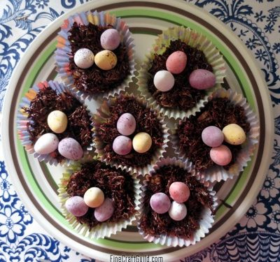 Easter Eggs in Chocolate Nests Recipe