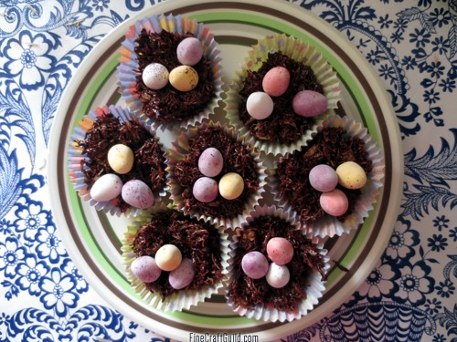 Easter Eggs Chocolate Nests Recipe