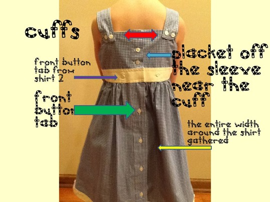 Free dress sewing patterns from mens shirts by Deborah, featured at FineCraftGuild.com
