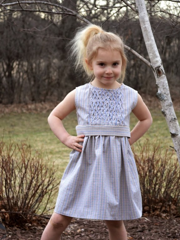 Recycled Men Shirts into Cool Girl Dresses