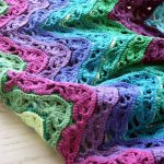 Lacy Ripple Blanket Crochet Pattern