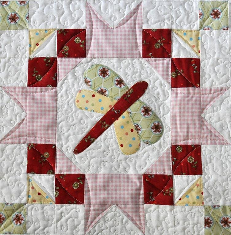 Butterfly Quilt Block Pattern