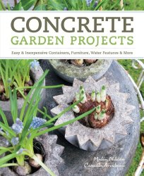 concrete garden projects - featured at FineCraftGuild.com