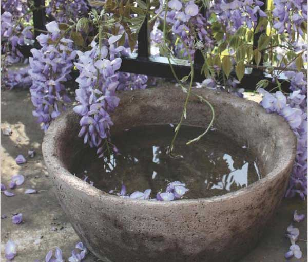 Concrete Garden Projects :: diy cement birdbath