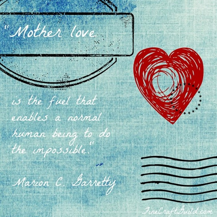 Free Printable Mothersday Card or Wall Art
