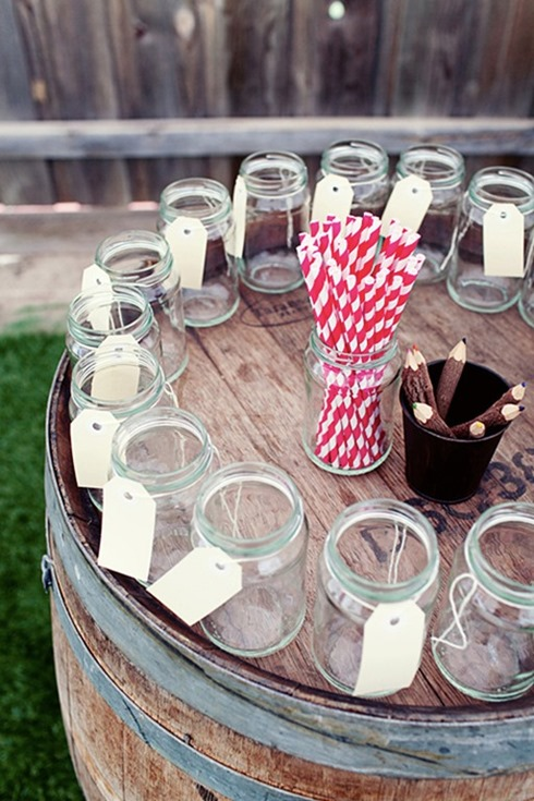 tagged_mason jars graduation party ideas