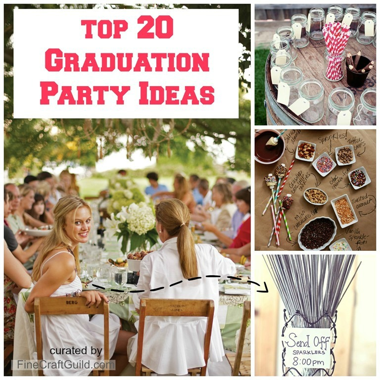 The 20 Best Graduation Party Ideas by FineCraftGuild.com