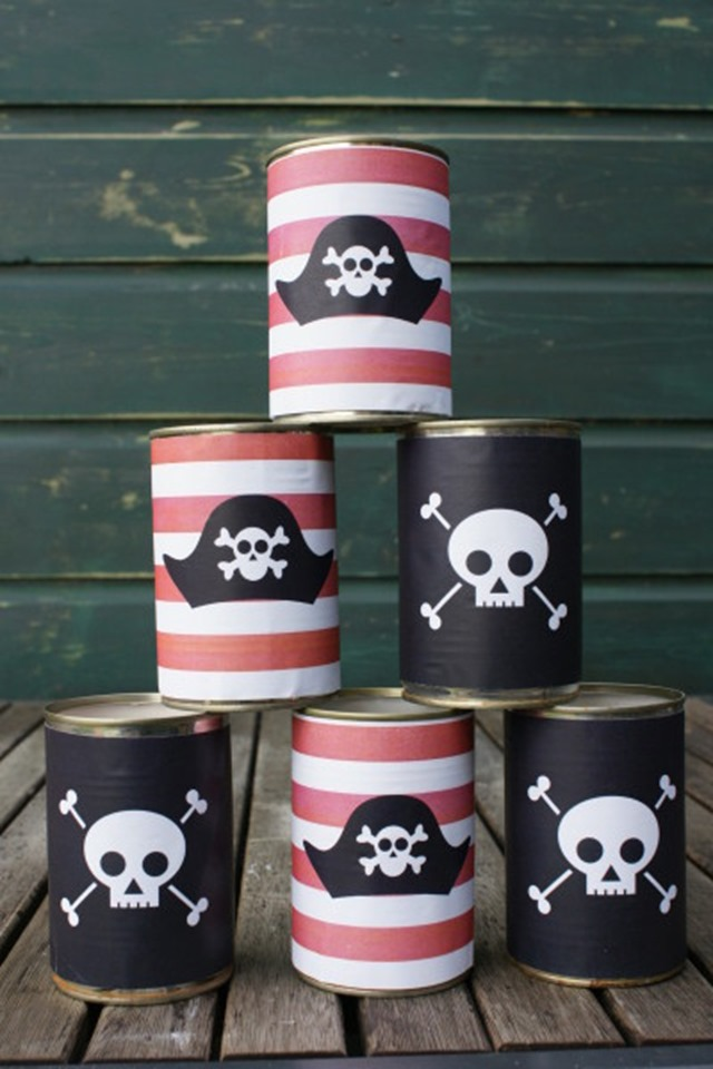 fun summer birthday party ideas for boys: pirate